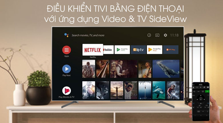 Video & TV SideView-Tivi LED Sony KD-65X8500G/S