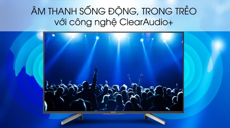 Android Tivi Sony 43 inch KDL-43W800G - Công nghệ âm thanh