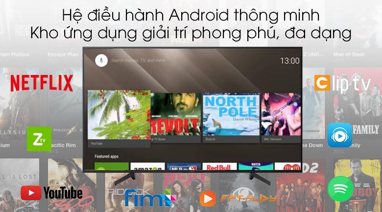 Android Tivi Sony 43 inch KDL-43W800G - Hệ điều hành