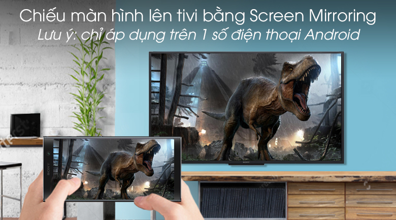 Android Tivi Sony 43 inch KDL-43W800G - Screen Mirroring