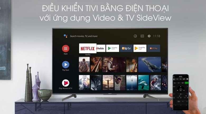 Video & TV SideView-Tivi LED Sony KDL-43W800G