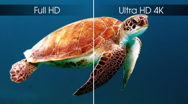 Android Tivi Sony 4K 65 inch KD-65X8000G - Độ phân giải