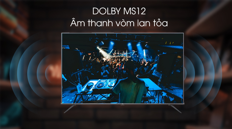 Android Tivi TCL 4K 43 inch L43A8 - Dolby MS12