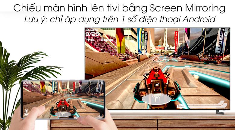 Smart Tivi QLED Samsung 8K 98 inch QA98Q900R - Screen Mirroring