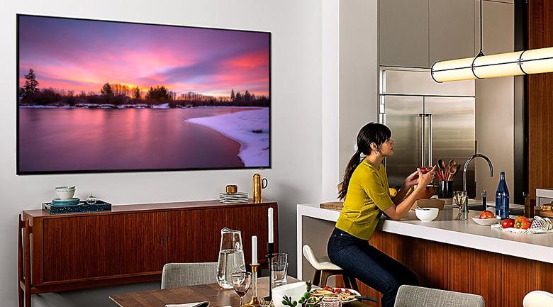 Smart Tivi QLED Samsung 8K 98 inch QA98Q900R - Thiết kế