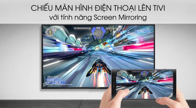 Tính năng Screen Mirroring trên tivi Android Tivi Sony 4K 49 inch KD-49X8500G