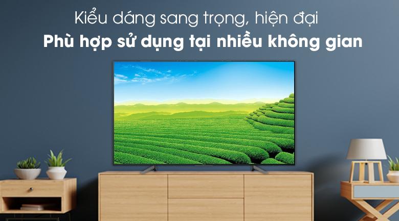 Smart Tivi Sony 4K 49 inch KD-49X7000G - thiết kế