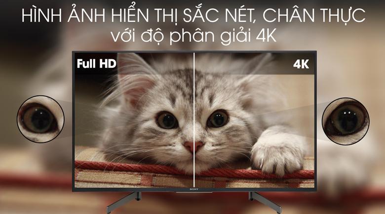 Tivi Sony 4K 49 inch KD-49X7000G - Độ phân giải
