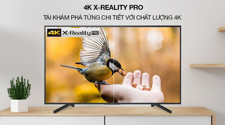Smart Tivi Sony 4K 49 inch KD-49X7000G - 4K XReality PRO