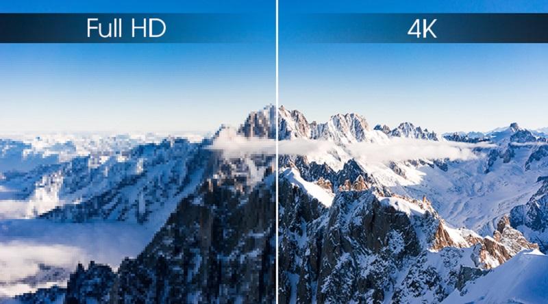 Android Tivi Sony 4K 43 inch KD-43X8500G - Sắc nét với độ phân giải Ultra HD 4K