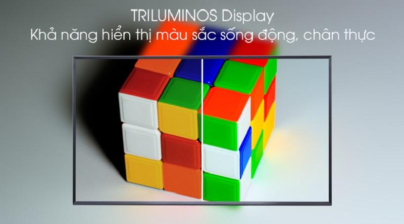 Android Tivi Sony 4K 43 inch KD-43X8500G-TRILUMINOS Display tái tạo màu sắc sống động