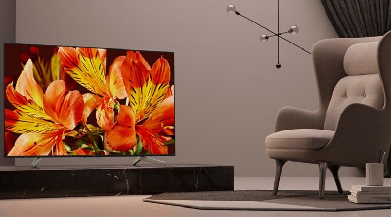 Android Tivi Sony 4K 75 inch KD-75X8000G - Thiết kế hiện đại, tinh tế