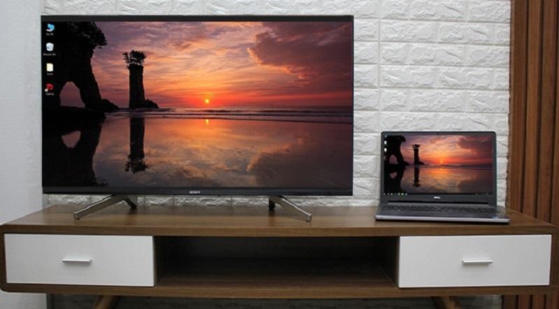 Android Tivi Sony 4K 75 inch KD-75X8000G-chiếu nội dung của máy tính lên tivi bằng Chromecast