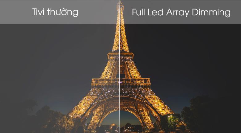 Android Tivi Sony 4K 75 inch KD-75X8500G Mẫu 2019 - Công nghệ Full Led Array Dimming cho hình ảnh hiển thị chính xác độ sáng tối, hình ảnh chân thực