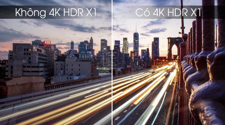 Công nghệ 4K HDR X1