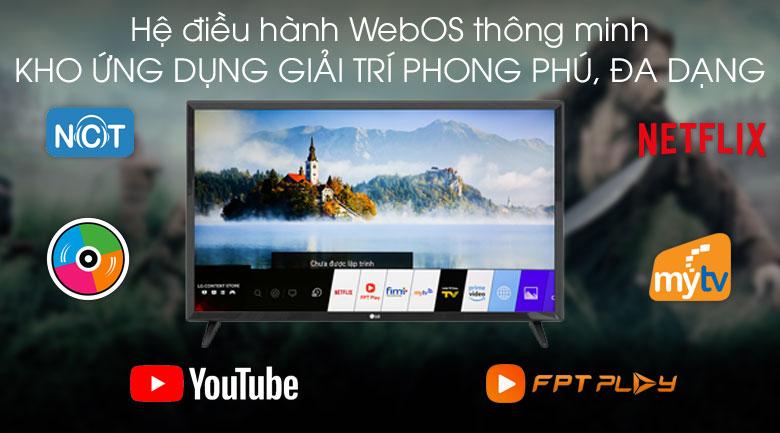 Smart Tivi LG 32 inch 32LM570BPTC - Hệ điều hành