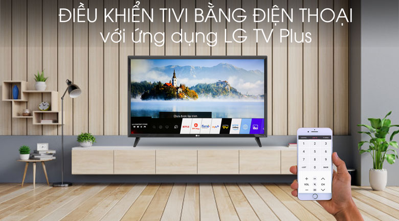 Smart Tivi LG 32 inch 32LM570BPTC - LG TV Plus