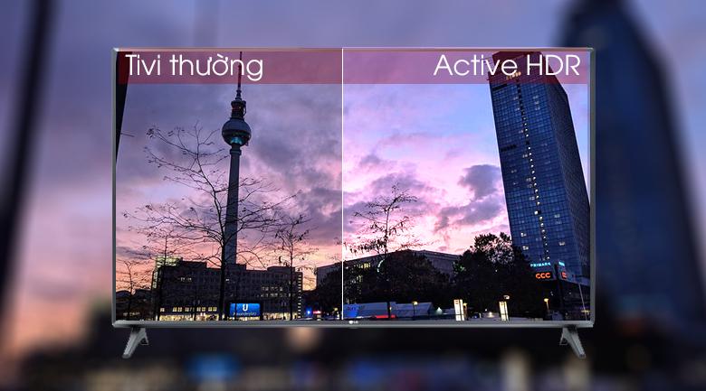 Smart Tivi LG 32 inch 32LM570BPTC có công nghệ Active HDR cho hình ảnh chân thật