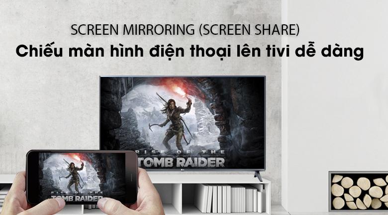 Smart Tivi LG 32 inch 32LM570BPTC có tính năng Screen Mirroring