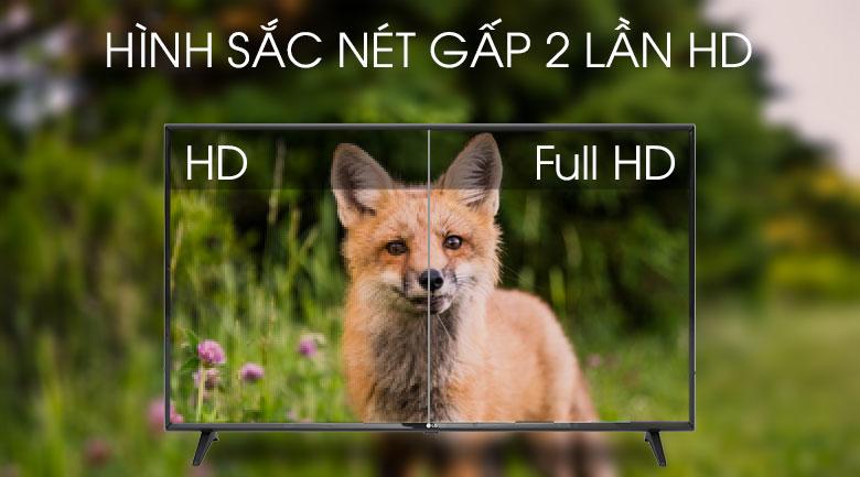 Smart Tivi LG 43 inch 43LM5700PTC -  độ phân giải