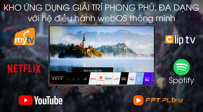 Smart Tivi LG 43 inch 43LM5700PTC - Hệ điều hành