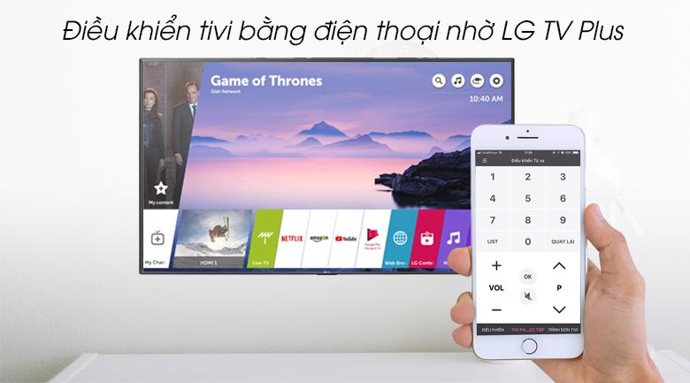 Smart Tivi LG 4K 43 inch 43UM7600PTA - LG TV Plus