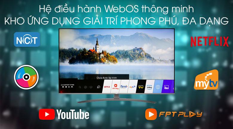 Smart Tivi LG 4K 43 inch 43UM7600PTA - Hệ điều hành