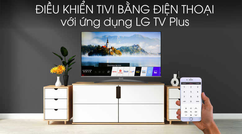 Smart Tivi LG 4K 43 inch 43UM7600PTA - LG TV Plus