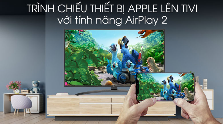 Smart Tivi LG 4K 43 inch 43UM7600PTA - AirPlay 2