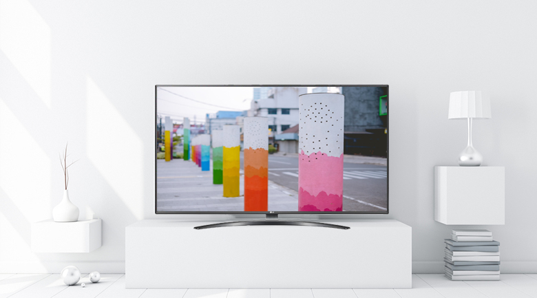 Smart Tivi LG 4K 50 inch 50UM7600PTA - Thiết kế