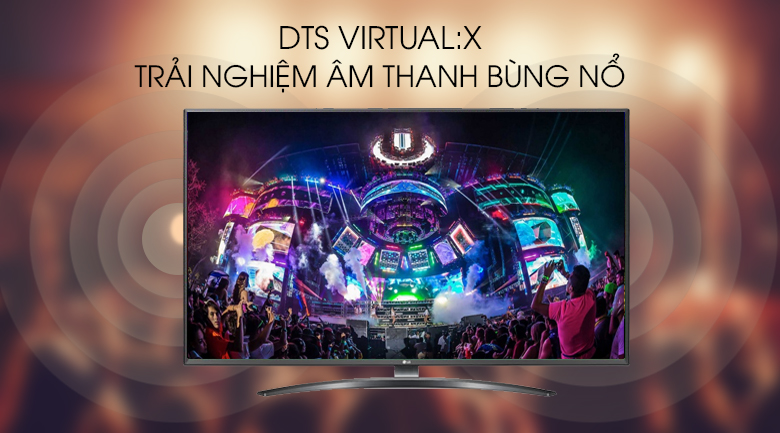 Smart Tivi LG 4K 50 inch 50UM7600PTA - DTS Virtual:X