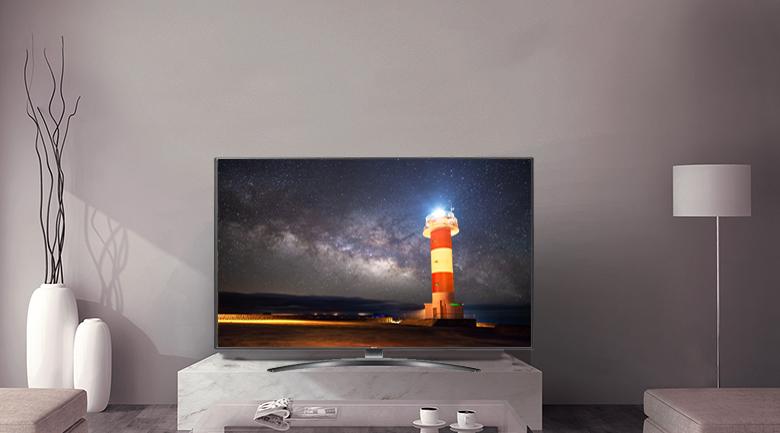 Smart Tivi LG 4K 55 inch 55UM7600PTA - Thiết kế