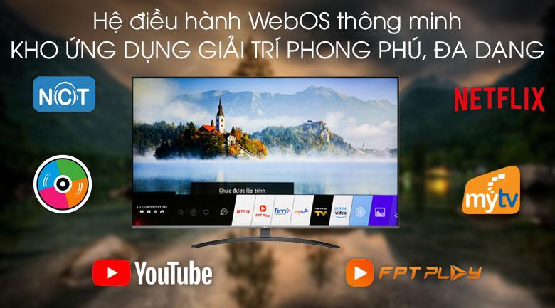 Smart Tivi LG 4K 55 inch 55UM7600PTA - Hệ điều hành