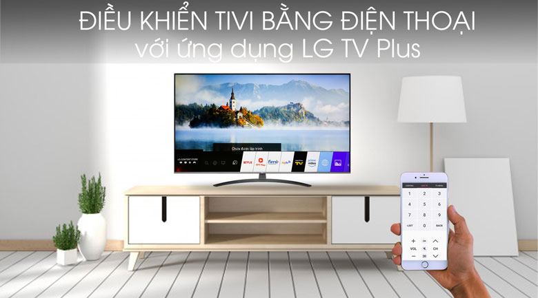 Smart Tivi LG 4K 55 inch 55UM7600PTA - LG TV Plus