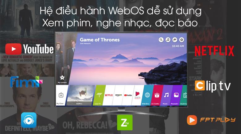 Smart Tivi LG 4K 55 inch 55UM7600PTA - WebOS