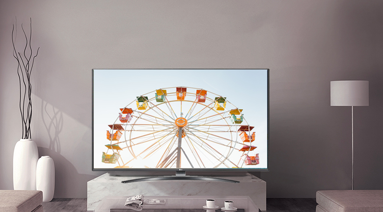 Smart Tivi LG 4K 65 inch 65UM7600PTA - Thiết kế