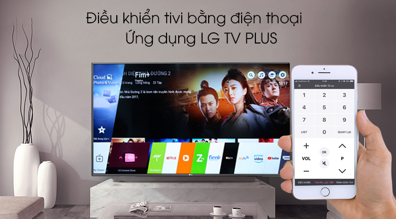 Smart Tivi LG 4K 65 inch 65UM7600PTA - LG TV Plus