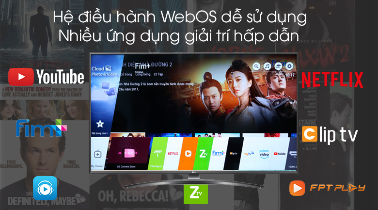 Smart Tivi LG 4K 65 inch 65UM7600PTA - WebOS 4.5