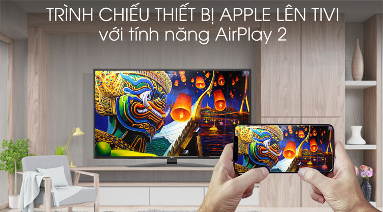 Smart Tivi LG 4K 65 inch 65UM7600PTA - AirPlay 2