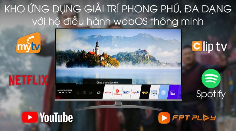Smart Tivi LG 4K 65 inch 65UM7600PTA - Hệ điều hành