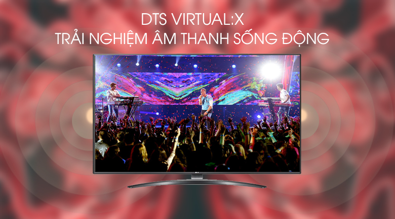 Smart Tivi LG 4K 65 inch 65UM7600PTA - DTS Virtual:X