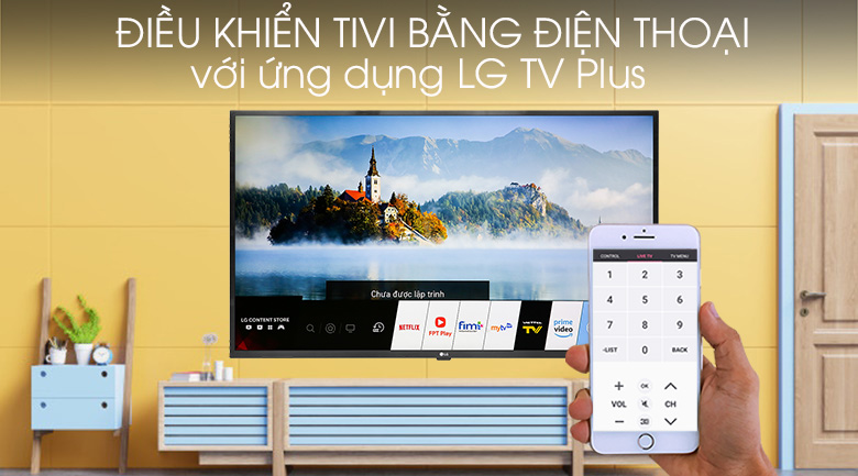 Smart Tivi LG 4K 43 inch 43UM7300PTA - LG TV Plus