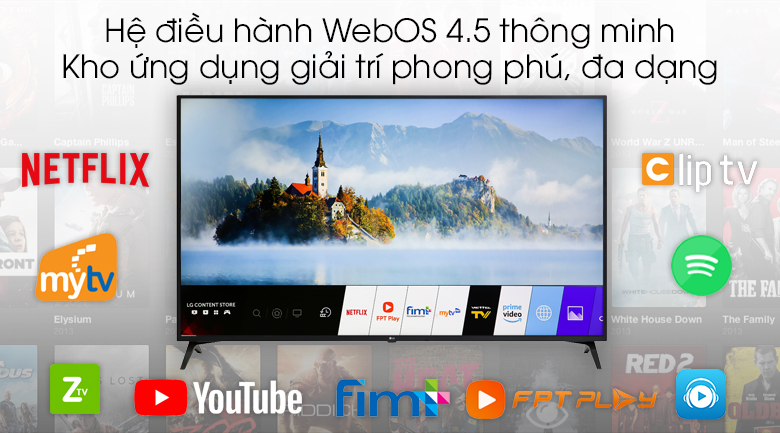 Smart Tivi LG 4K 43 inch 43UM7300PTA - WebOS 4.5