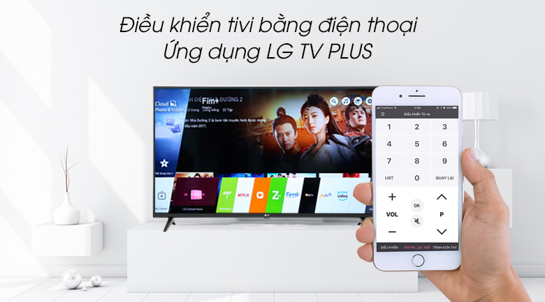 Smart Tivi LG 4K 55 inch 55UM7300PTA - LG TV Plus