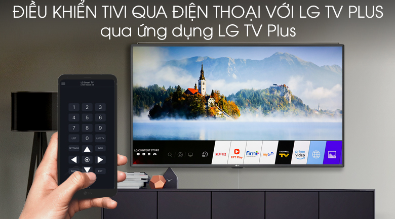 Smart Tivi LG 4K 70 inch 70UM7300PTA - LG TV Plus