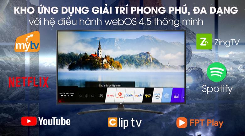 Tivi LED LG 43UM7400PTA - Hệ điều hành