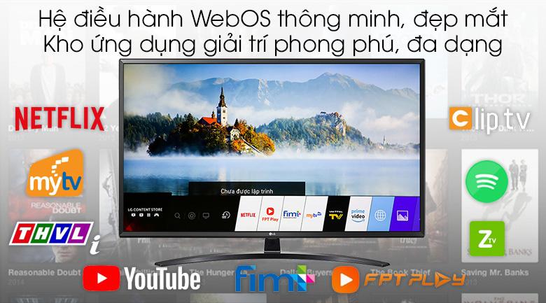 Smart Tivi LG 4K 49 inch 49UM7400PTA - WebOS