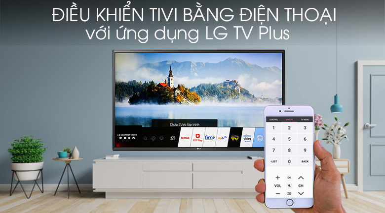 Smart Tivi LG 4K 49 inch 49UM7400PTA - LG TV Plus