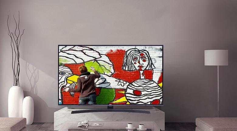 Smart Tivi LG 4K 49 inch 49UM7400PTA - Thiết kế