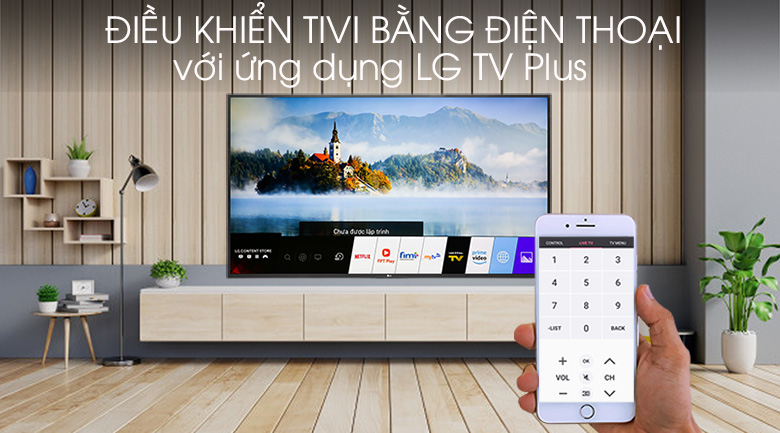 Smart Tivi LG 4K 55 inch 55UM7400PTA - LG TV Plus